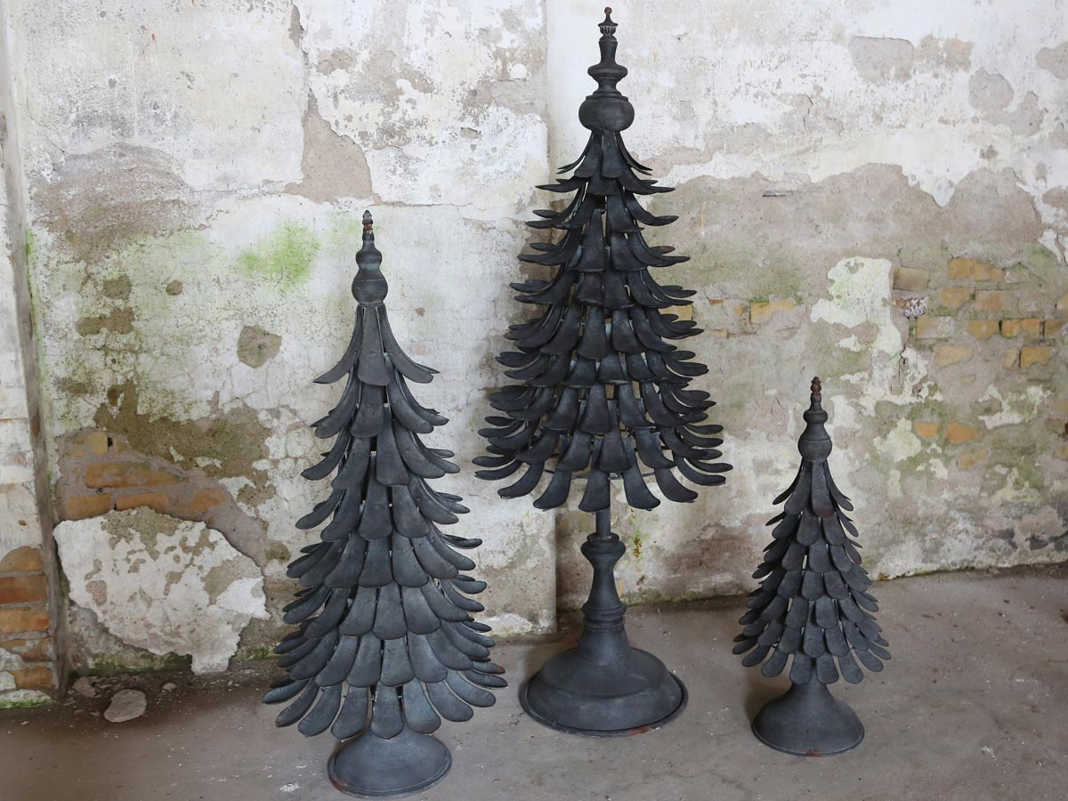 metall weihnachtsbaum antik tannenbaum dekobaum christbaum shabby vintage neu ebay. Black Bedroom Furniture Sets. Home Design Ideas