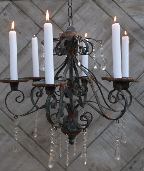 kerzen kronleuchter l ster lampe landhaus vintage h ngeleuchte shabby antik neu ebay. Black Bedroom Furniture Sets. Home Design Ideas