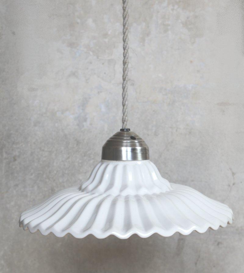 lampe wei loftlampe h ngelampe vintage shabby landhaus pendellampe antik neu ebay. Black Bedroom Furniture Sets. Home Design Ideas