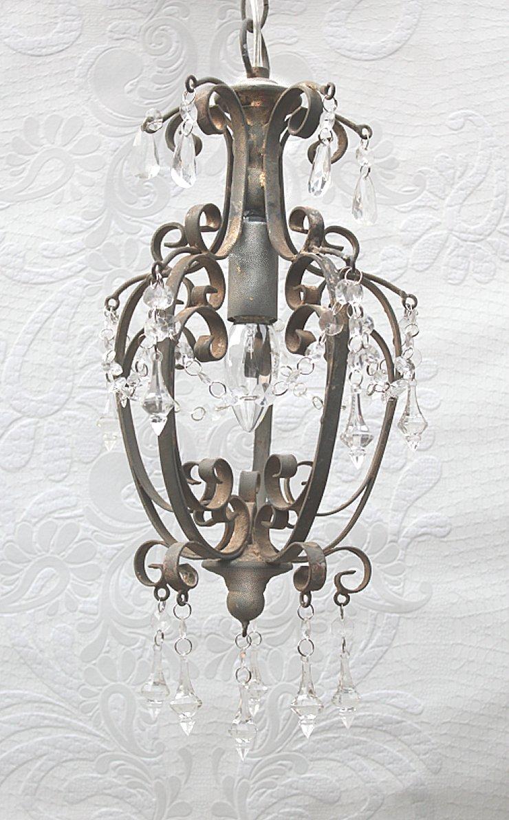 22cm chic antique kronleuchter l ster lampe shabby. Black Bedroom Furniture Sets. Home Design Ideas